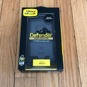 OtterBox defender black iPhone case